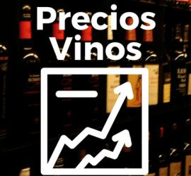 los precios de los vinos varian