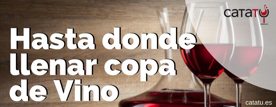 Hasta Donde Llenar Copa De Vino
