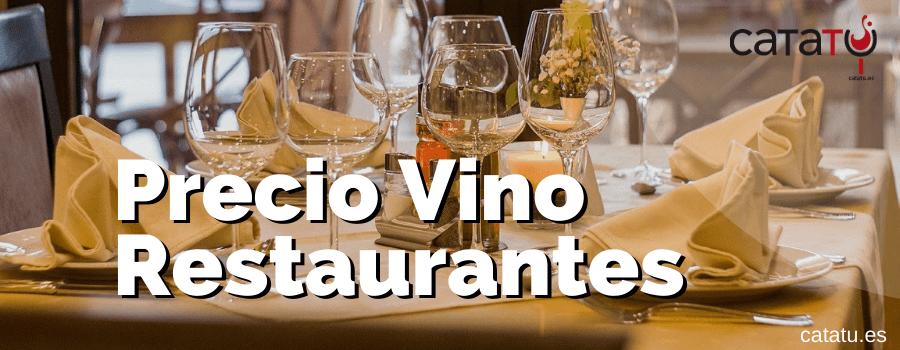 Precio Del Vino En Restaurantes