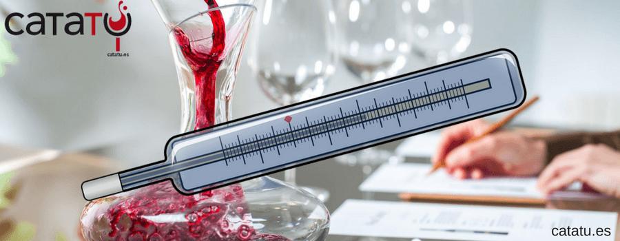temperatura vinos tintos