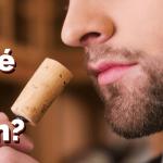 Por qué olemos el corcho del vino