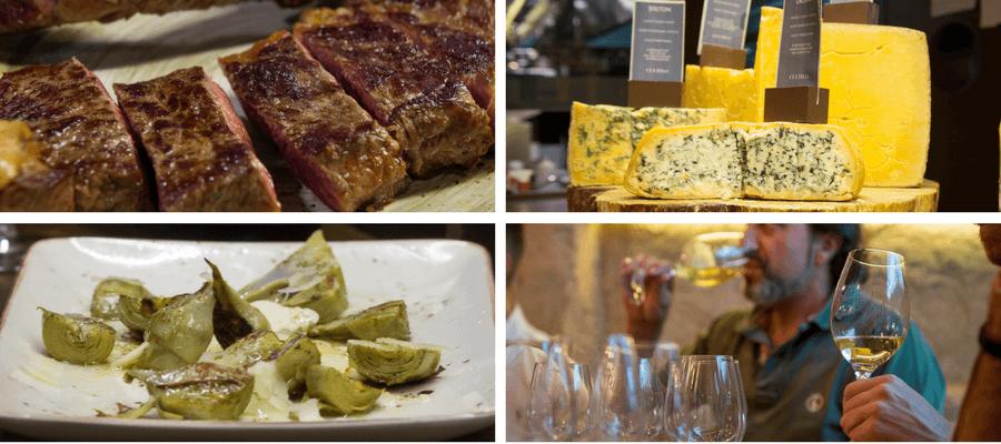 kea conexion carne queso vino