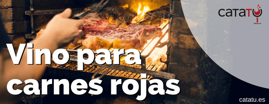 Vino Carnes Rojas