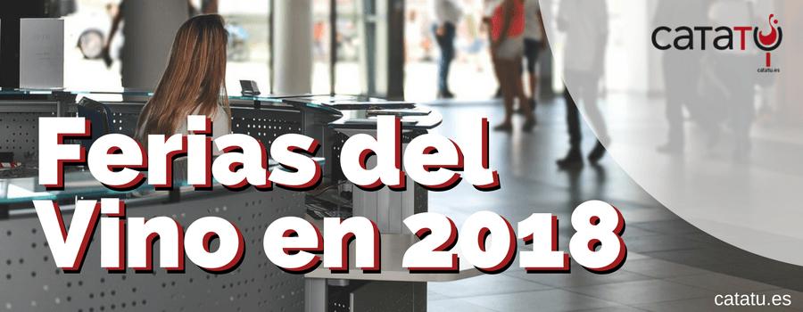 Ferias Vino Año 2018