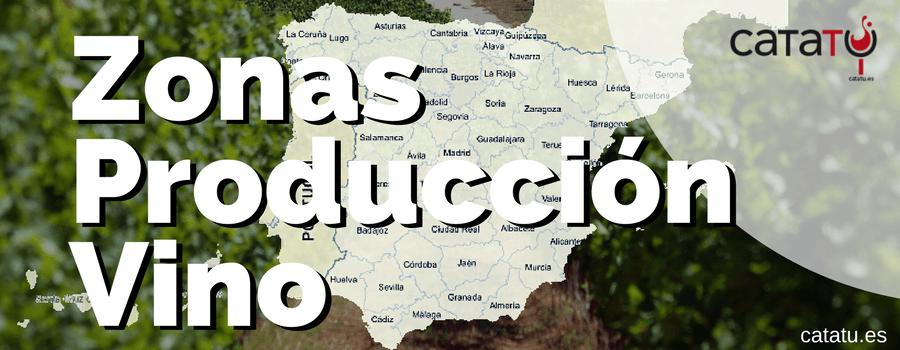 Zonas Produccion Vino Espana