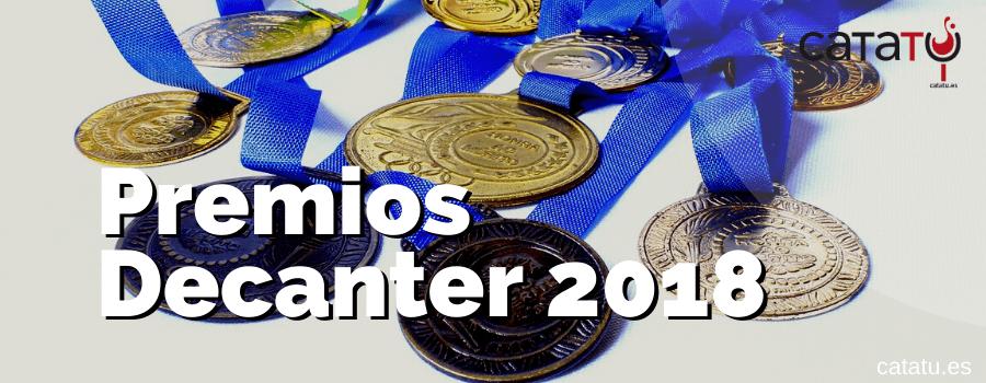 Premios Decanter 2018
