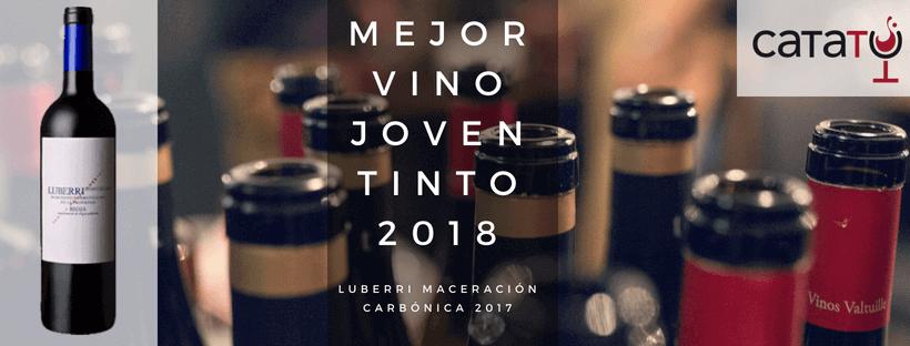 Mejor Vino Joven Tinto 2018