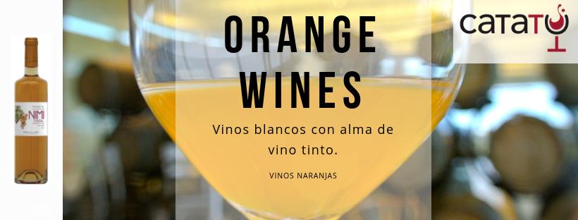 Orange Wines o Vinos Naranjas. Blanco con alma de Tinto.