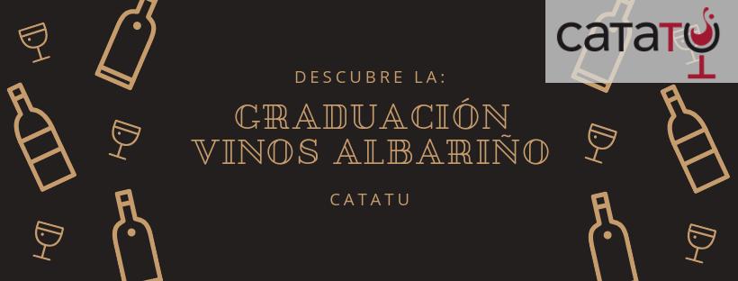 Graduación de los vinos de Albariño.