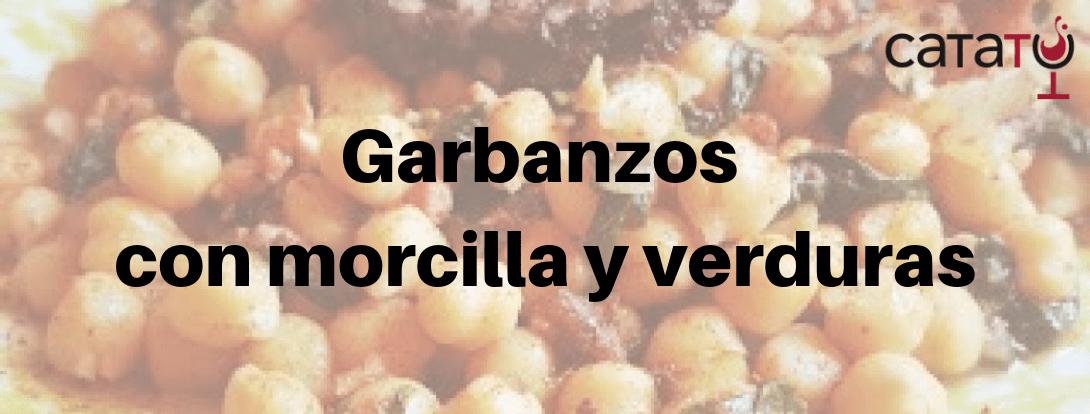 Receta De Garbanzos Con Morcilla Y Verduras.