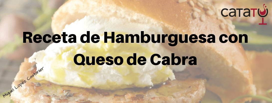 HAMBURGUESA QUESO DE CABRA Min