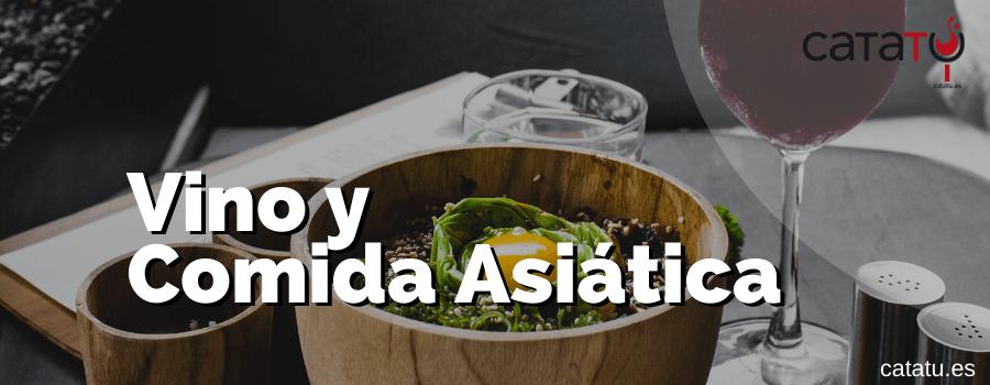Vino Con Comida Asiatica
