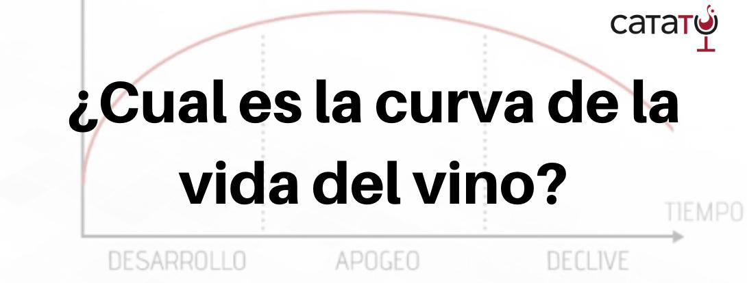 La curva de la vida de un vino