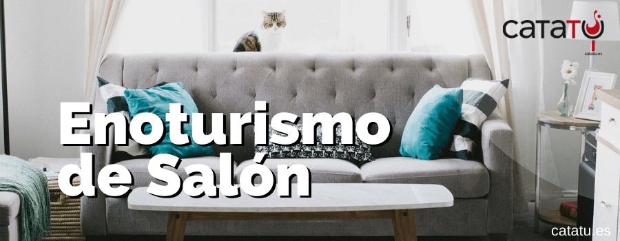Enoturismo de salon y sofa
