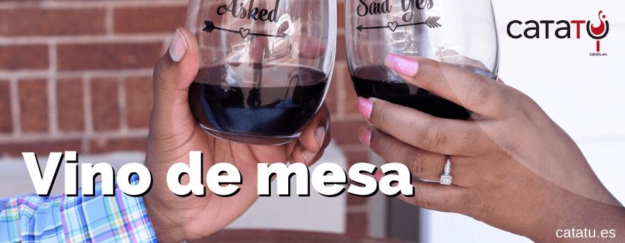vino de mesa