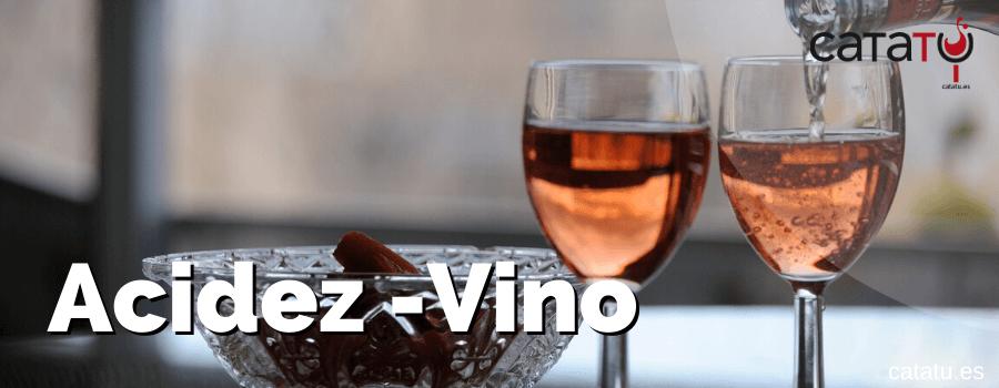 acidez vino
