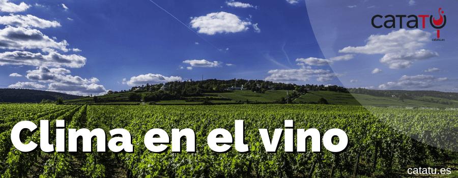 clima en el vino
