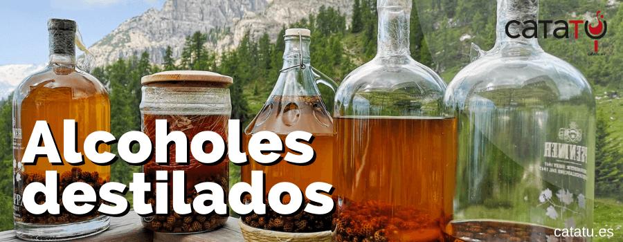 alcoholes destilados