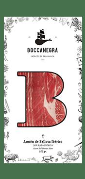 Jamón Ibérico De Bellota Loncheado 100gr Boccanegra