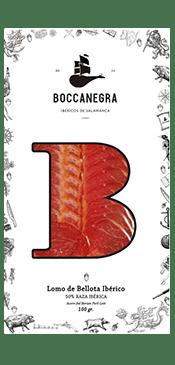 Lomo Ibérico 50% Bellota Loncheado 100gr Boccanegra